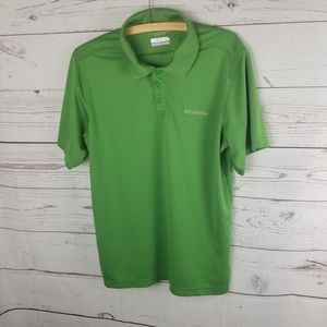 ⚡Columbia Omni-Shade Sun Protection Polo Wms med